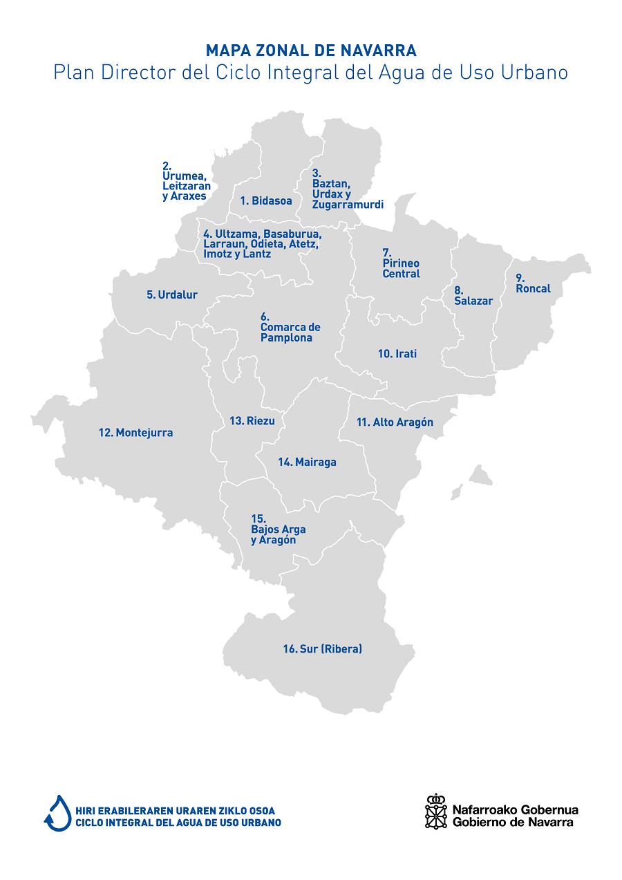 Mapa de reuniones zonales