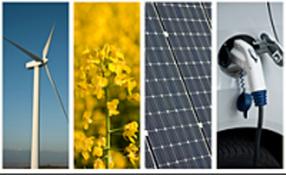 Fuentes de energía limpias, contra el cambio climático.